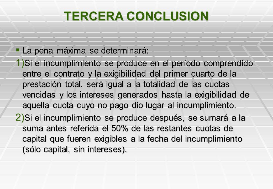 TERCER PROBLEMA A RESOLVER LIMITACION DE LA PENA La solución surge claramente del artículo 47, por tanto, no constituye en realidad una situación prob