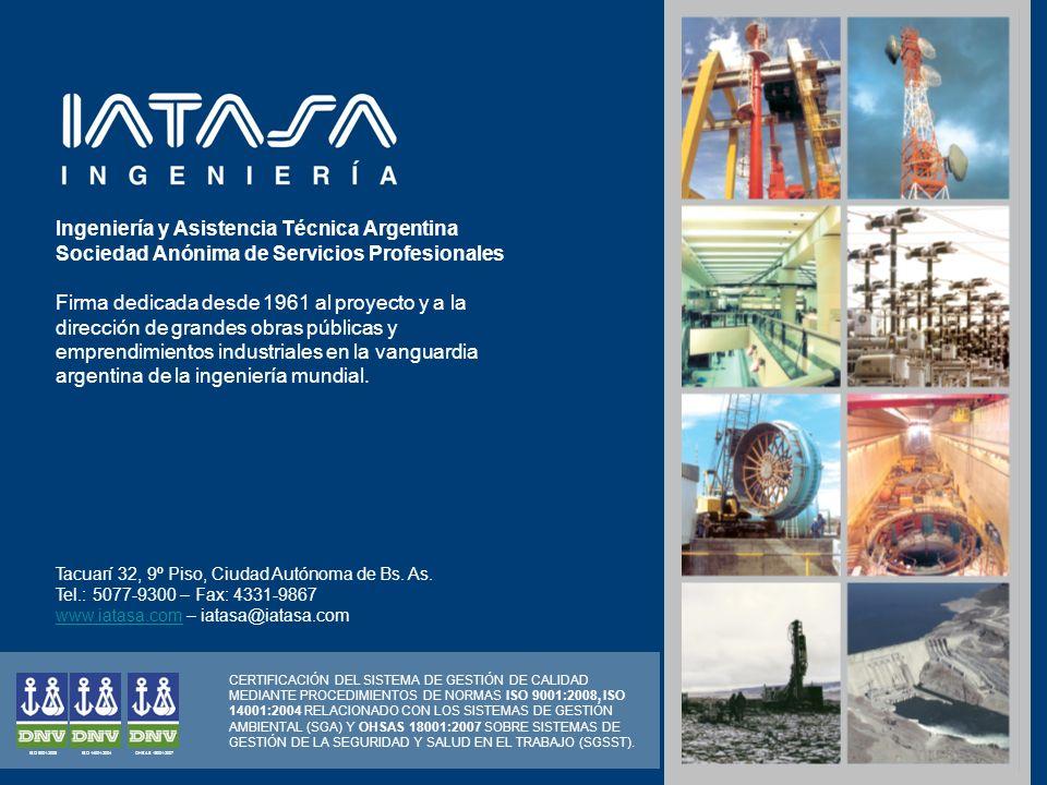 Firma dedicada desde 1961 al proyecto y a la dirección de grandes obras públicas y emprendimientos industriales en la vanguardia argentina de la ingen