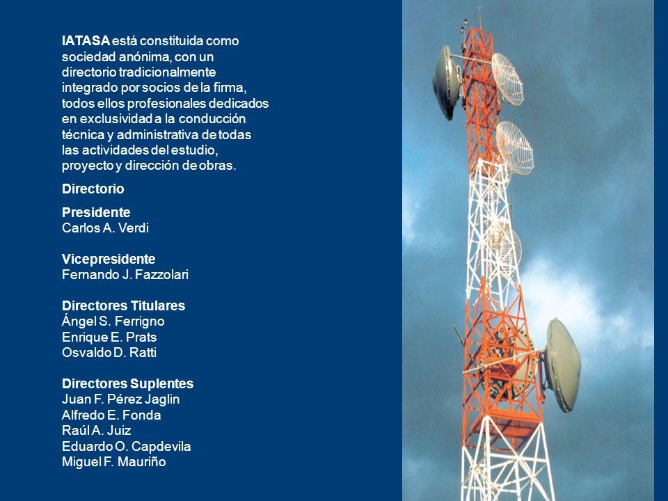 IATASA está constituida como sociedad anónima, con un directorio tradicionalmente integrado por socios de la firma, todos ellos profesionales dedicado