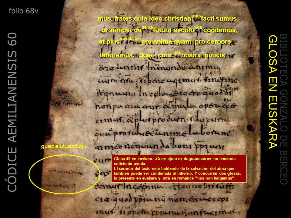 transcripción del texto del folio 72r