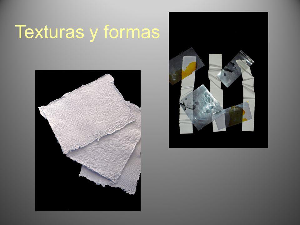 Texturas y formas