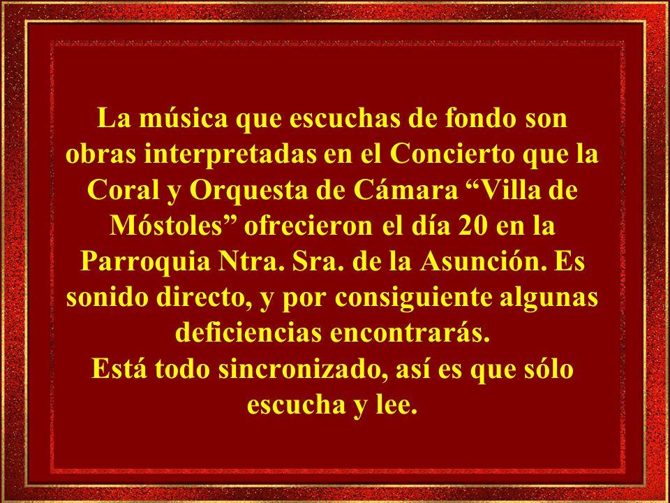 1.- Ubi Caritas.B. Doff-Sotta 2.- For de Beauty. Philip Stopford 3.- Salmo 100.