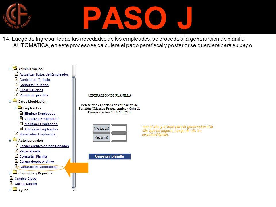 PASO J 14.