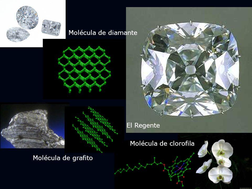 El Regente Molécula de diamante Molécula de grafito Molécula de clorofila