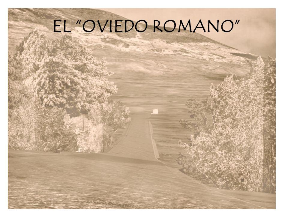 La presencia romana en Oviedo es segura, debido a su carácter natural como nudo de comunicaciones, y a la existencia de la fuente de la Rúa, que no es una fuente urbana, sino una infraestructura viaria de servicio.