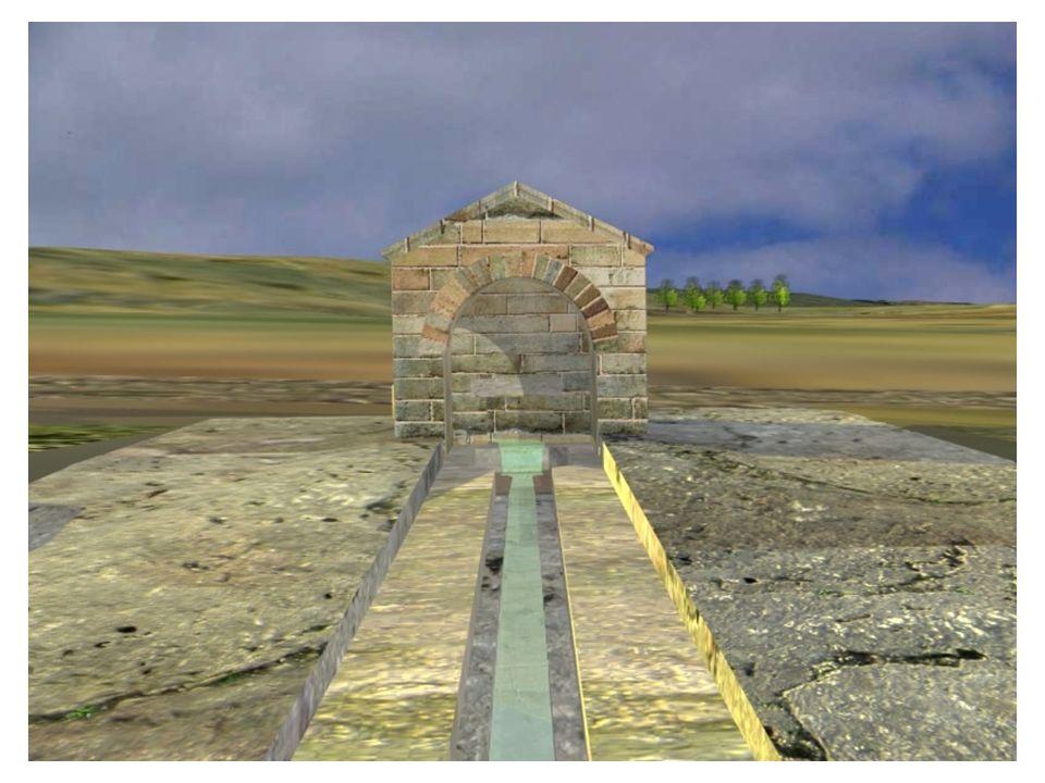 MONUMENTOS REPRESENTATIVOS (II): LA BASÍLIC A DE SANTA MARÍA Su planta viene definida por la de la actual Capilla del Rey Casto, que tiene iguales dimensiones, aunque diferente articulación espacial.