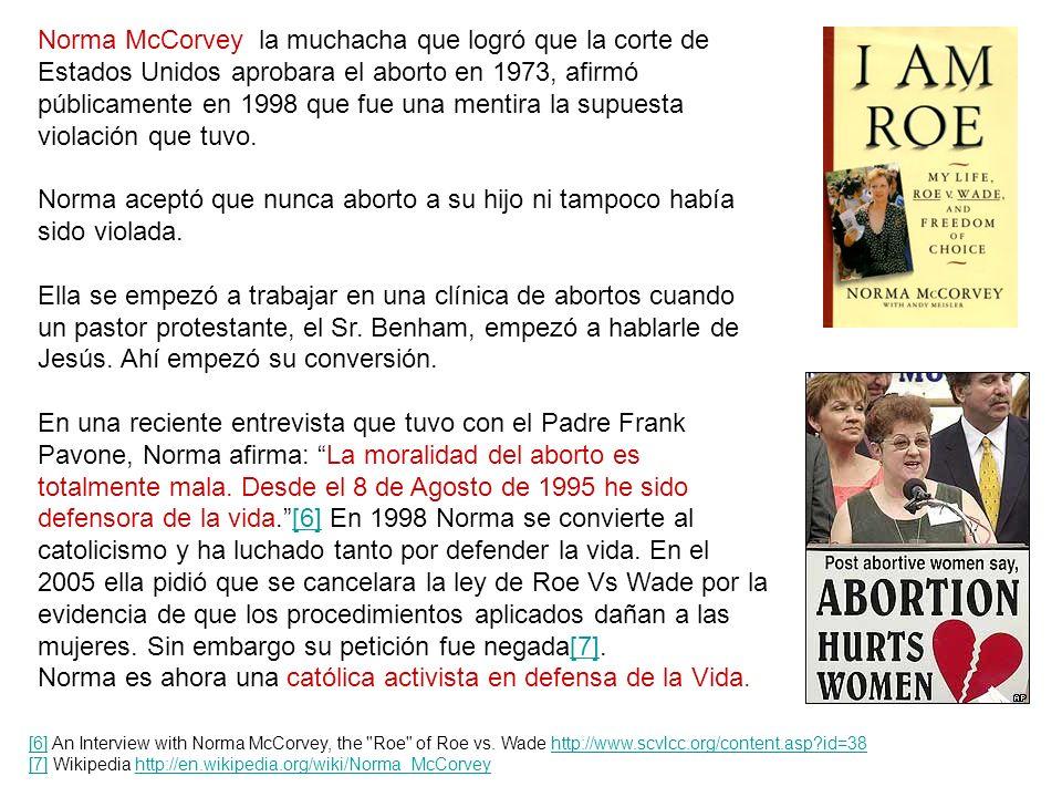 ¿Y que ha pasado con los principales promotores del aborto? Margaret Sanger, murió con sus mismos ideales racistas en 1966 pero Planned Parenthood se