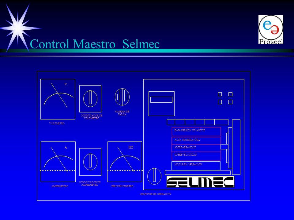 Circuitos Electrónicos ä Control Maestro Medición Medición Protecciones del motor Protecciones del motor ä Circuito de Control de Transferencia y Paro