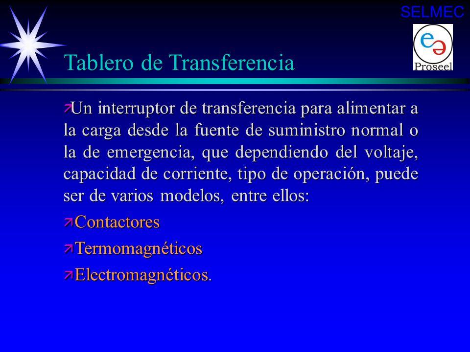 Tablero de Transferencia ä Una tarjeta de estado sólido, que cumple con la función de detectar voltaje en rangos ajustables a diferentes valores para