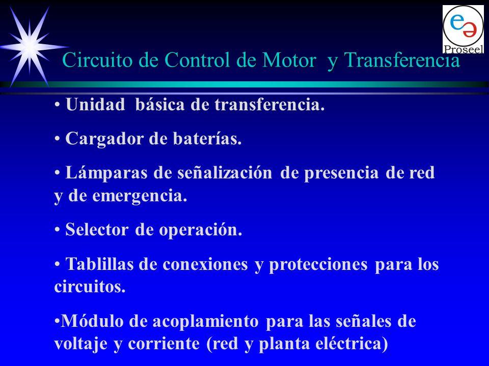 Componentes: Un módulo central con microcontrolador el cual realiza: Las funciones de control de arranque, paro y protecciones del motor. El control d