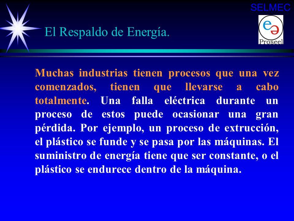 …. y no solo para las luces y la calefacción, sino también para ventilación donde se producen gases tóxicos y para operar los controles eléctricos de
