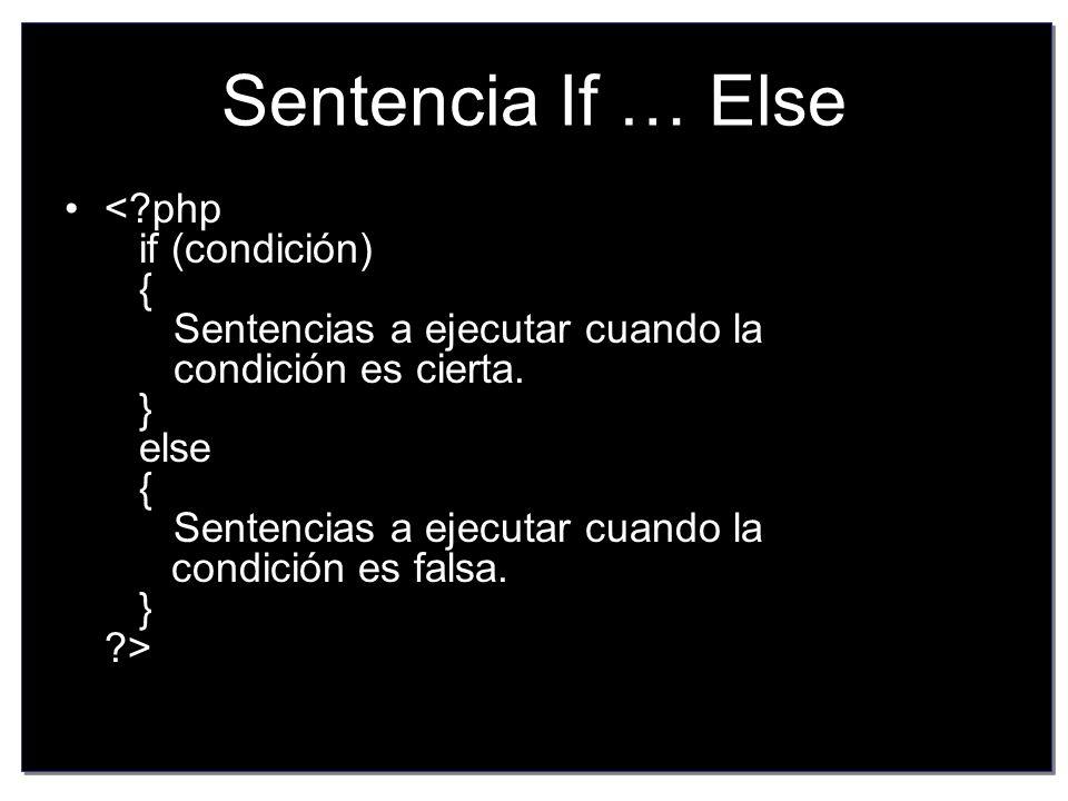 La sentencia if ejecuta una serie de instrucciones u otras dependiendo de la condición que le pongamos.