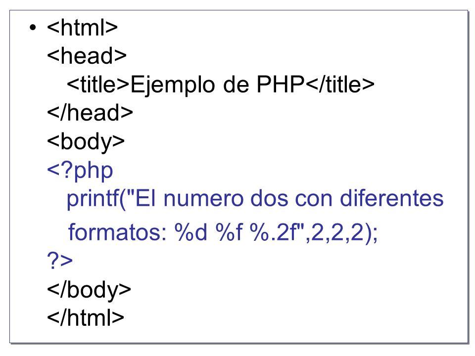 La cadena de formato puede incluir una seria de carácteres especiales que indican como formatear las variables que se incluyen en la instrucción.