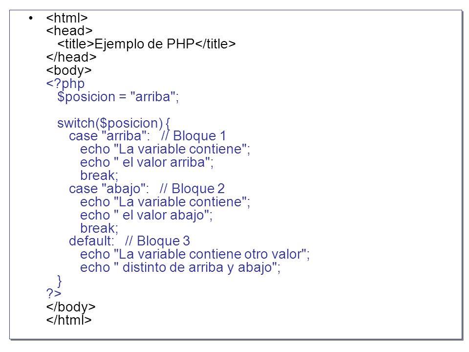 Manejo de Cadenas Dado el uso del lenguaje PHP el tratamiento de cadenas es muy importante, existen bastantes funciones para el manejo de cadenas, a continuación explicaremos las más usadas.