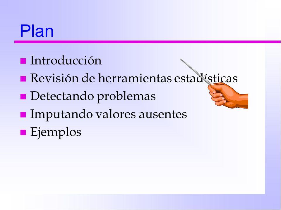 Una jerarquía de necesidades… Error source identification Error detection & measurement Error reduction Error propagation Error managementError reduction Citado en: López (1997)
