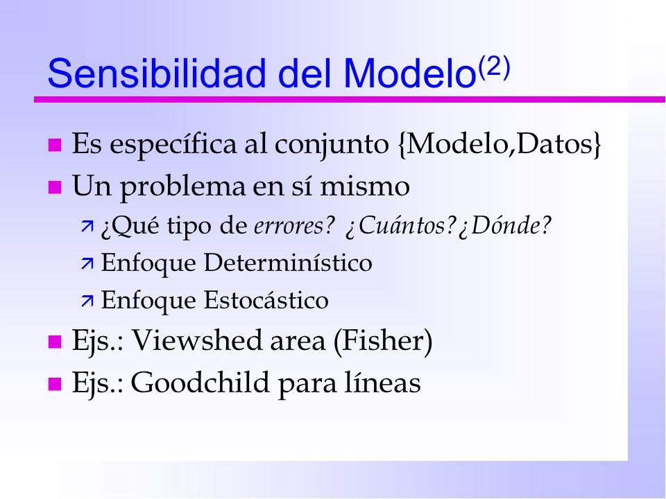 Capacitación de los técnicos Idealmente deberían: n Conocer del problema físico n Conocer de los datos (propios y ajenos!) n Conocer los modelos n Capaces de criticar resultados