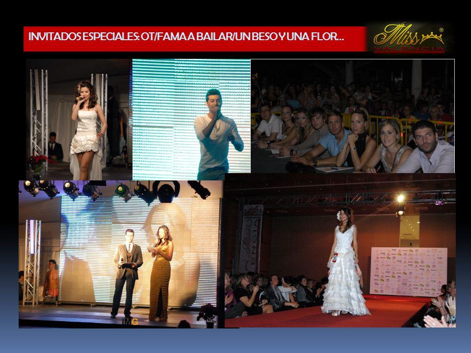 Participación en la gala de Miss & Míster Sagunto 2011 Participación en todos las actividades promocionales.