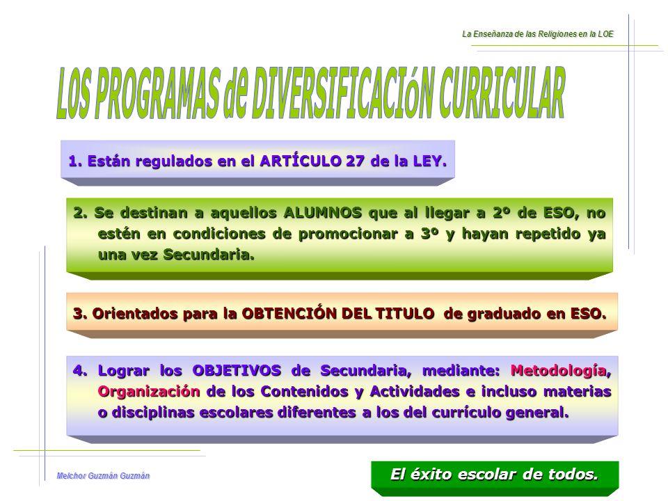 Melchor Guzmán Guzmán 5.La LEY no dice quien ELABORARÁ estos programas.