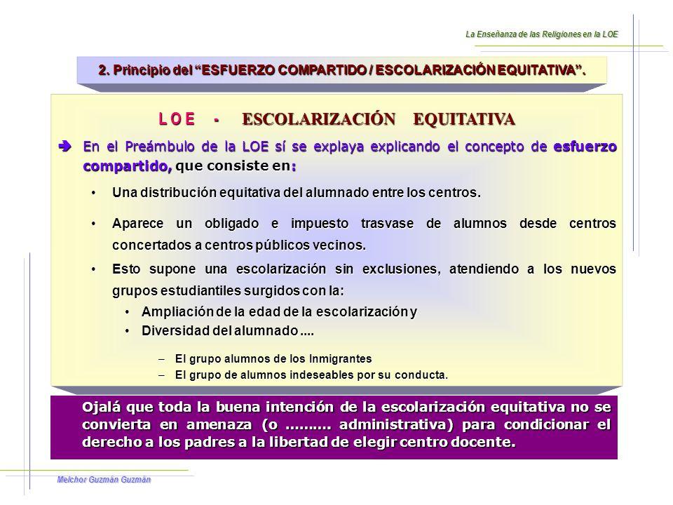 Melchor Guzmán Guzmán Mediante tres objetivos fundamentales que asume la LOE: 1.P reparar adecuadamente a los jóvenes para vivir en la nueva sociedad del conocimiento y poder afrontar los retos que de ello se derivan.