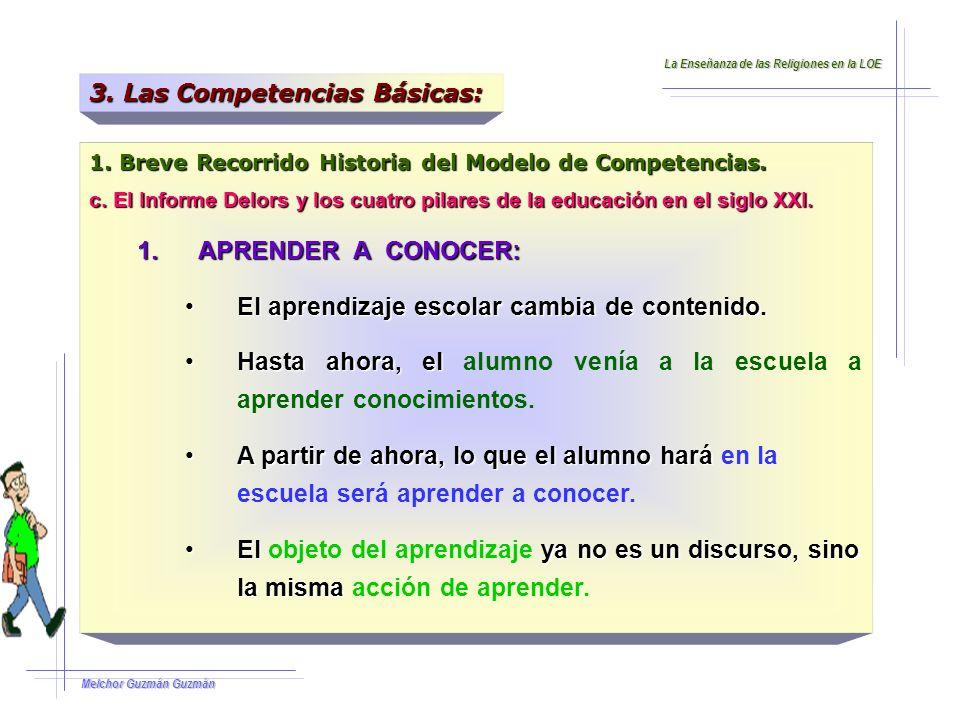 Melchor Guzmán Guzmán 1.Breve Recorrido Historia del Modelo de Competencias.