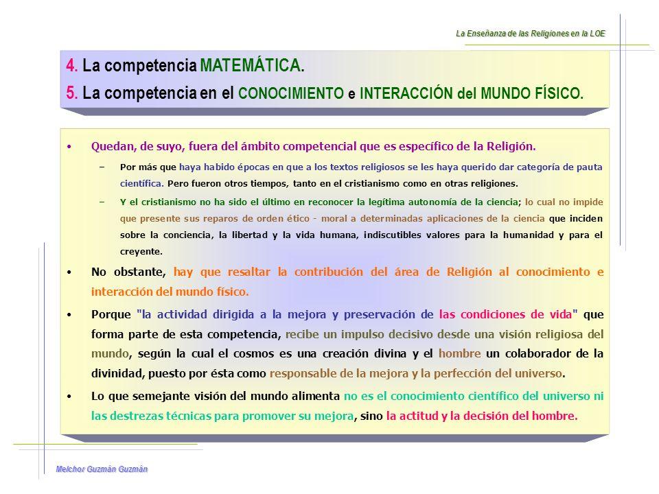 Melchor Guzmán 6.La competencia de la AUTONOMIA e INICIATIVA PERSONAL.