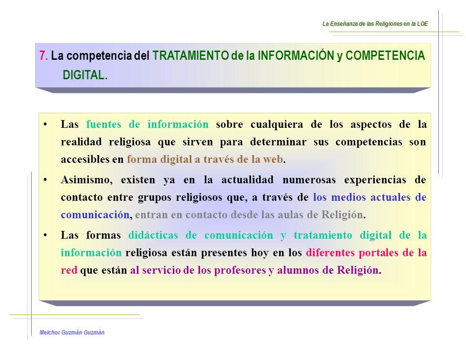 Melchor Guzmán Guzmán 8.La competencia de APRENDER A APREDER.