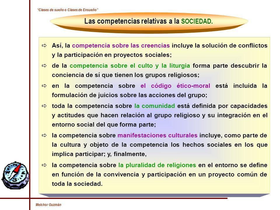 Melchor Guzmán La competencia HERMENEUTICA o INTERPRETATIVA.