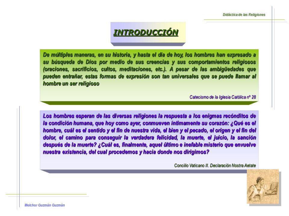 Melchor Guzmán Guzmán Didáctica de las Religiones