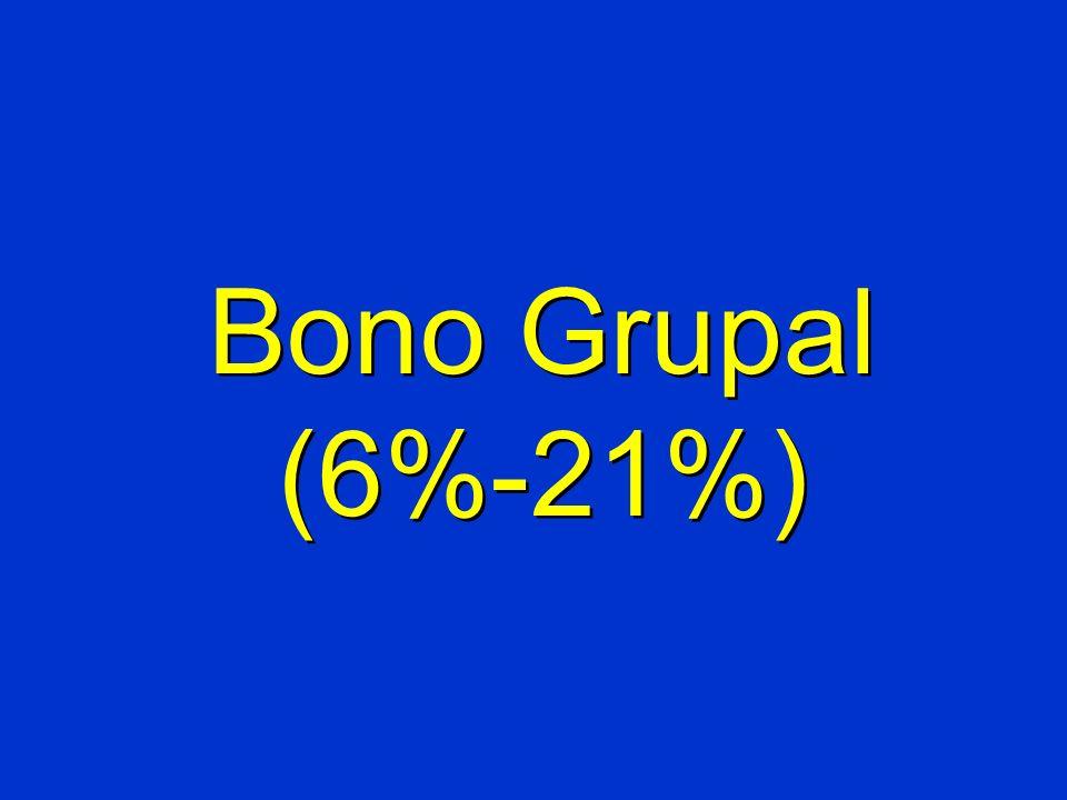 Bono Grupal (6%-21%)