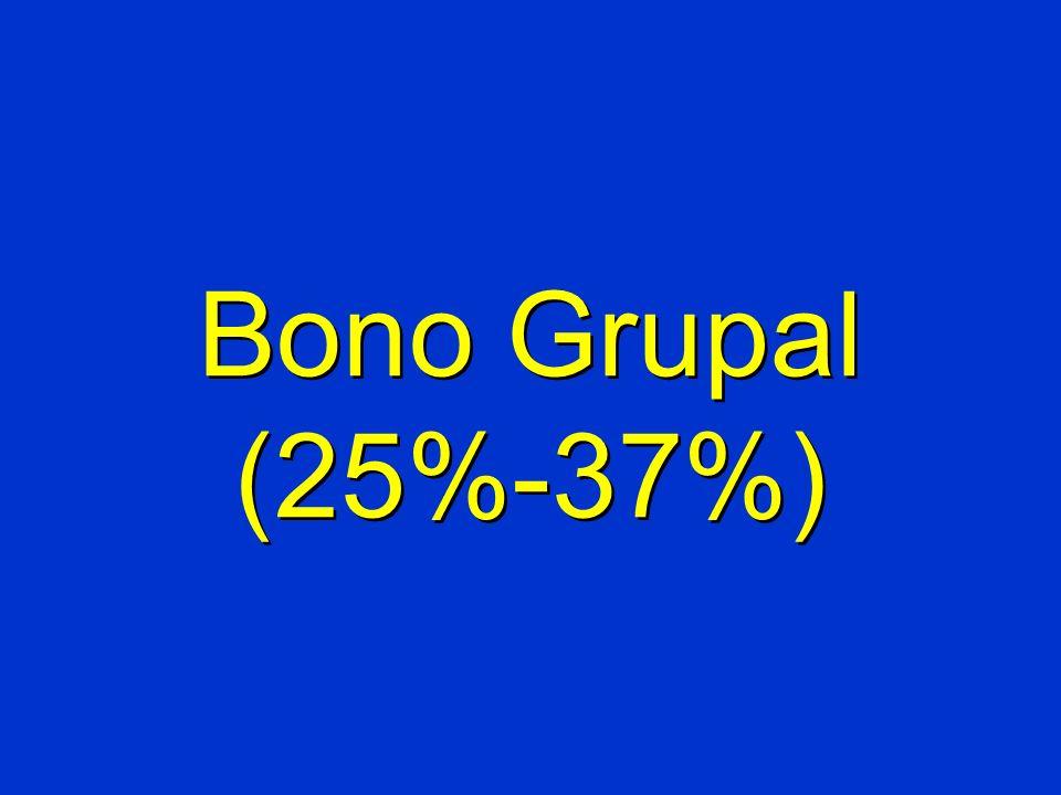 Bono Grupal (25%-37%)