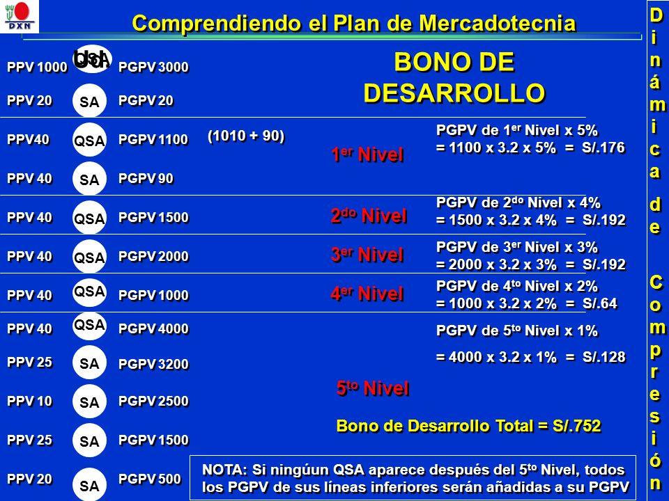 Ud. 3 er Nivel Dinámicade CompresiónDinámicade Compresión Dinámicade CompresiónDinámicade Compresión PPV 20 1 er Nivel 2 do Nivel 4 er Nivel PGPV 500