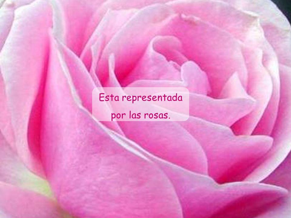Es conocida también como la Santa Patrona de los horticultores y floricultores.