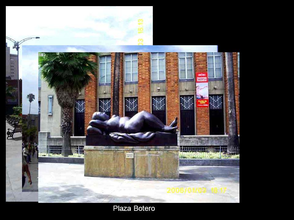 Plaza Botero y Museo de Antioquia