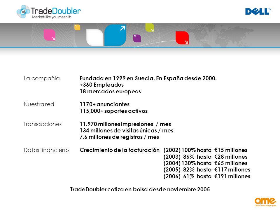 4 La compañía Fundada en 1999 en Suecia. En España desde 2000.