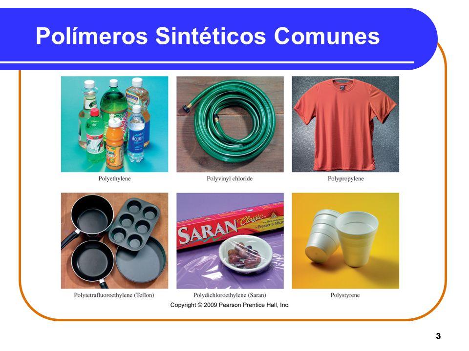 3 Polímeros Sintéticos Comunes