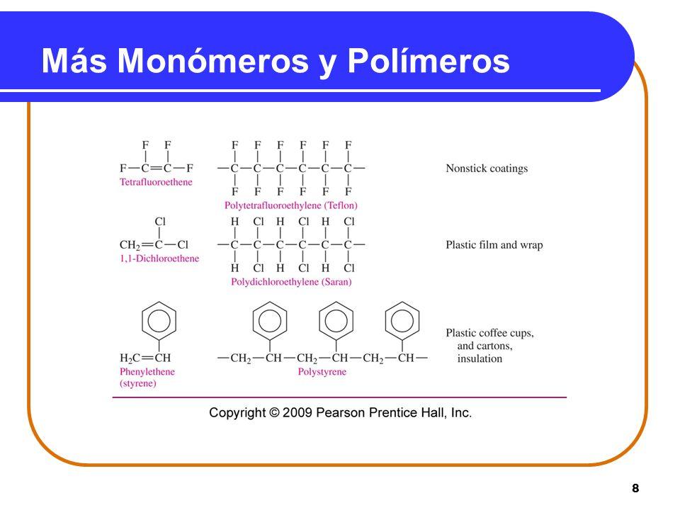 8 Más Monómeros y Polímeros