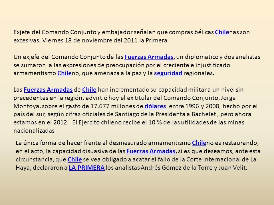FAP EN MANOS DEL Congreso Casanave lamentó que el Perú tenga como cazabombarderos solo dos MIG-29 y un Mirage 2000 anticuados, así como cuatro Sukhoy