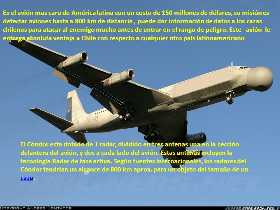 Chile cuenta además con 35 aviones A-36 Halcón que solo sirven para atacar y han sido fuertemente equipados. Los Chilenos les han puesto misiles aire-