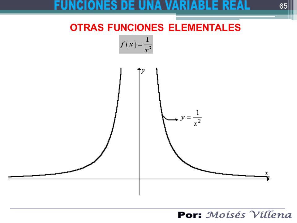 OTRAS FUNCIONES ELEMENTALES 65