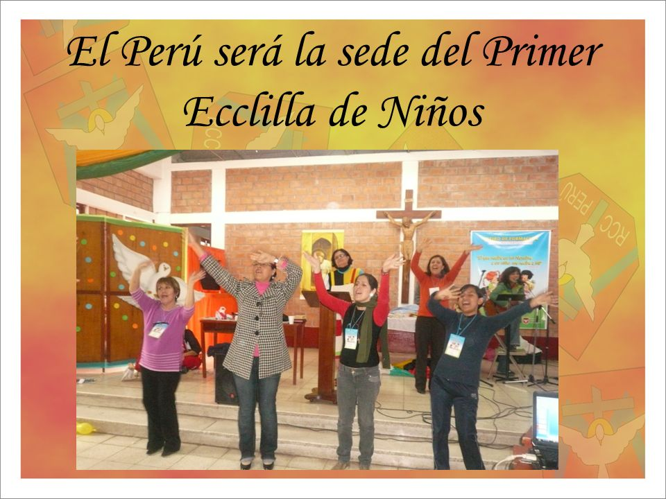 El Perú será la sede del Primer Ecclilla de Niños