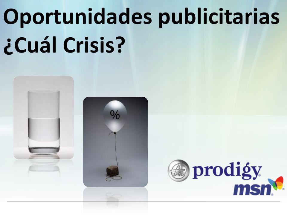 Oportunidades publicitarias ¿Cuál Crisis