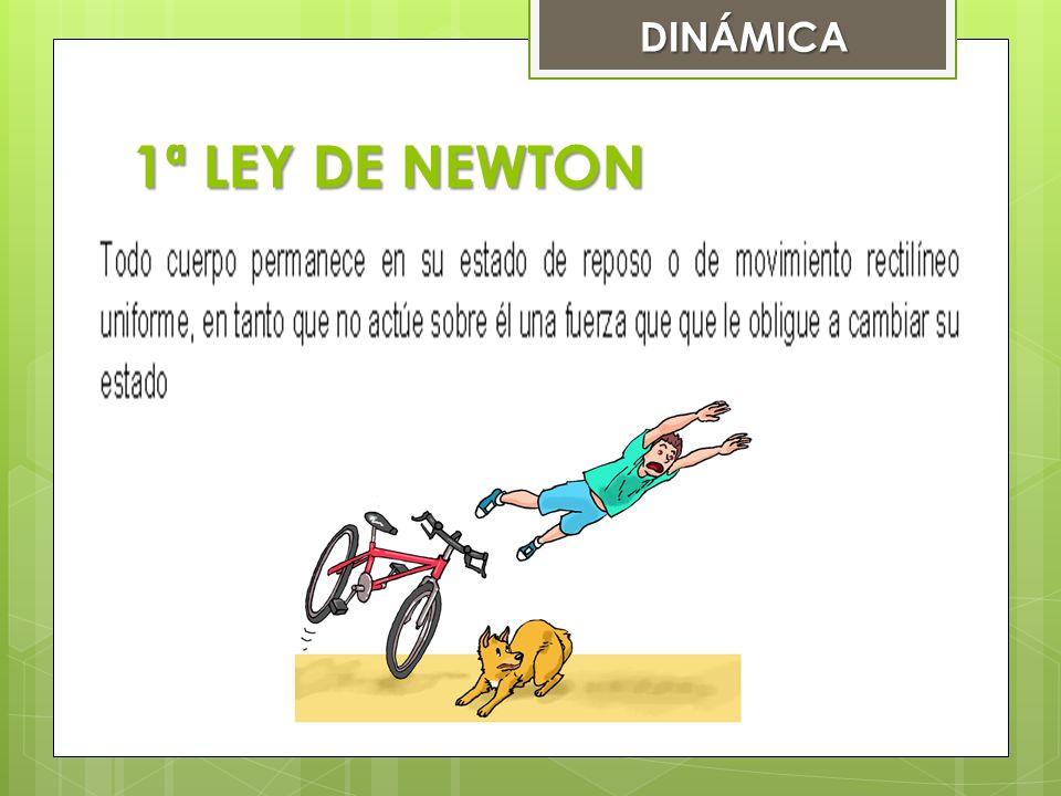 1ª LEY DE NEWTON DINÁMICA