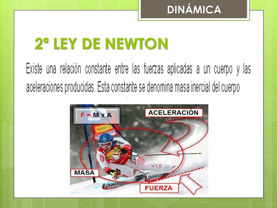 2ª LEY DE NEWTON DINÁMICA
