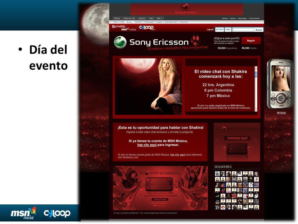 Prodigy MSN Promoción Editorial: México 6 MSN México (Prodigy) Homepage