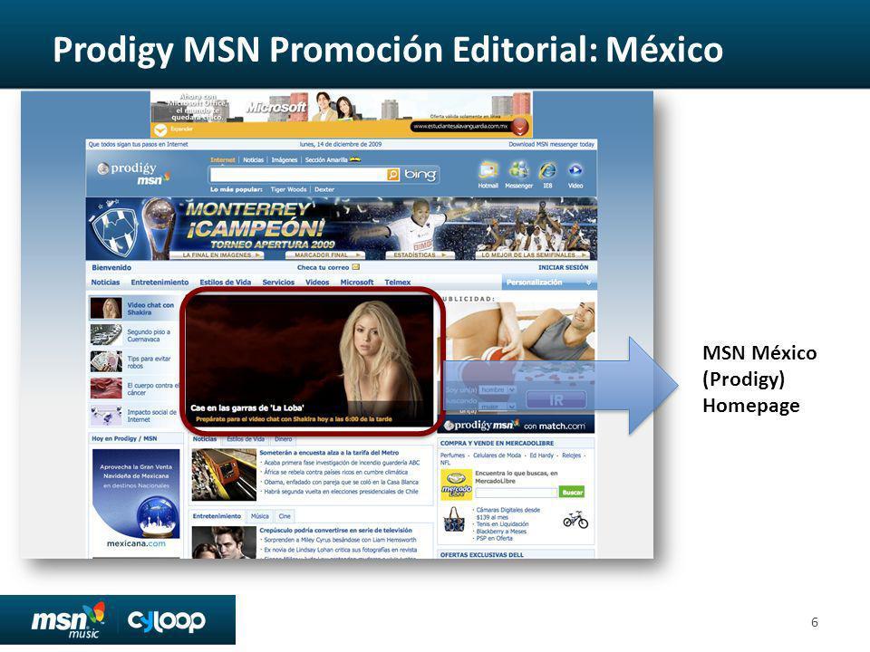 MSN Promoción Editorial: LATAM 7