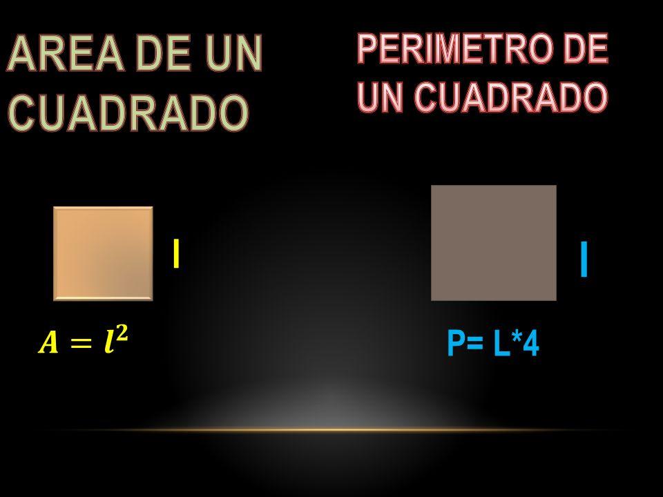 l P= L*4 l