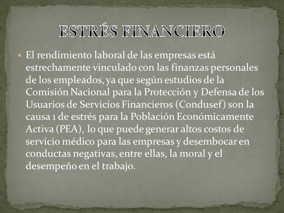 El rendimiento laboral de las empresas está estrechamente vinculado con las finanzas personales de los empleados, ya que según estudios de la Comisión