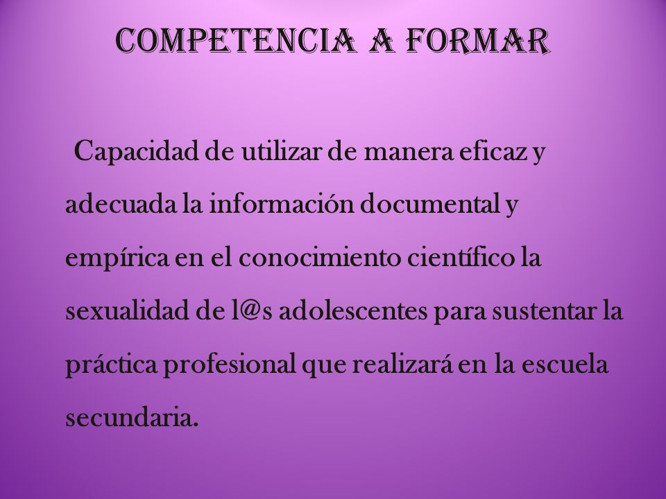9) Autonomía.El/la estudiante es responsable de su aprendizaje.