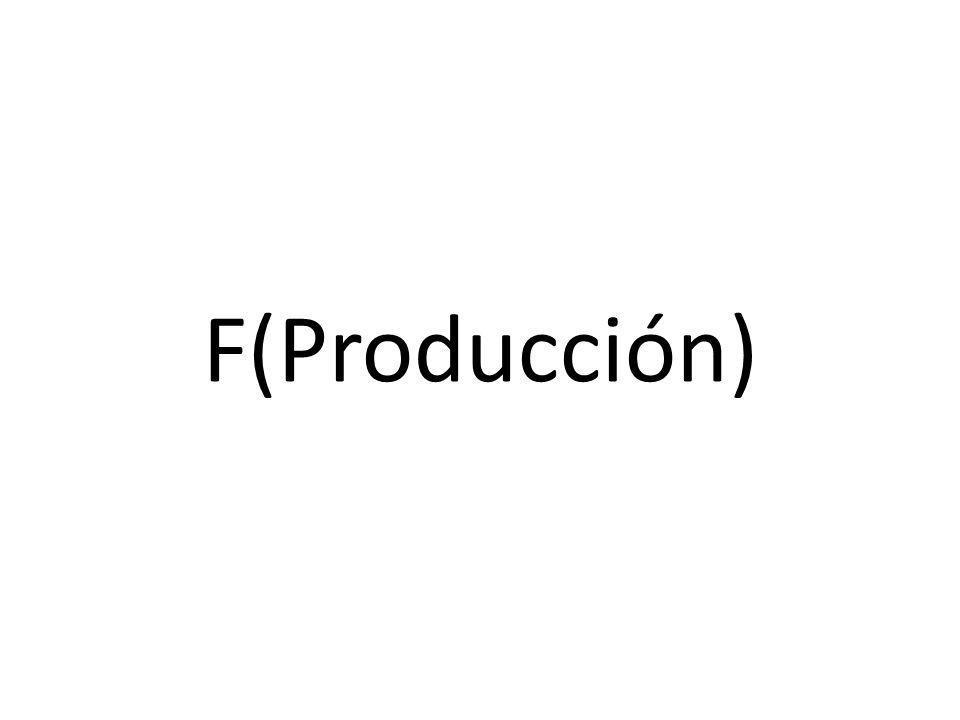 F(Producción)