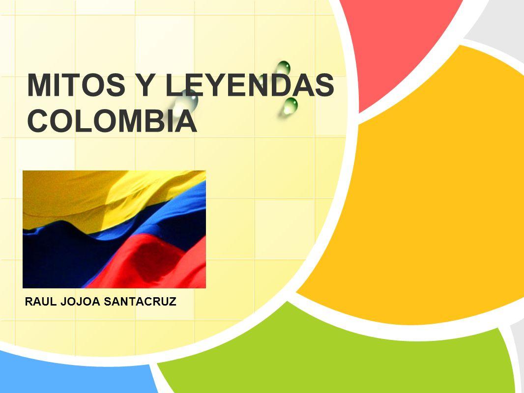 L/O/G/O MITOS Y LEYENDAS COLOMBIA RAUL JOJOA SANTACRUZ